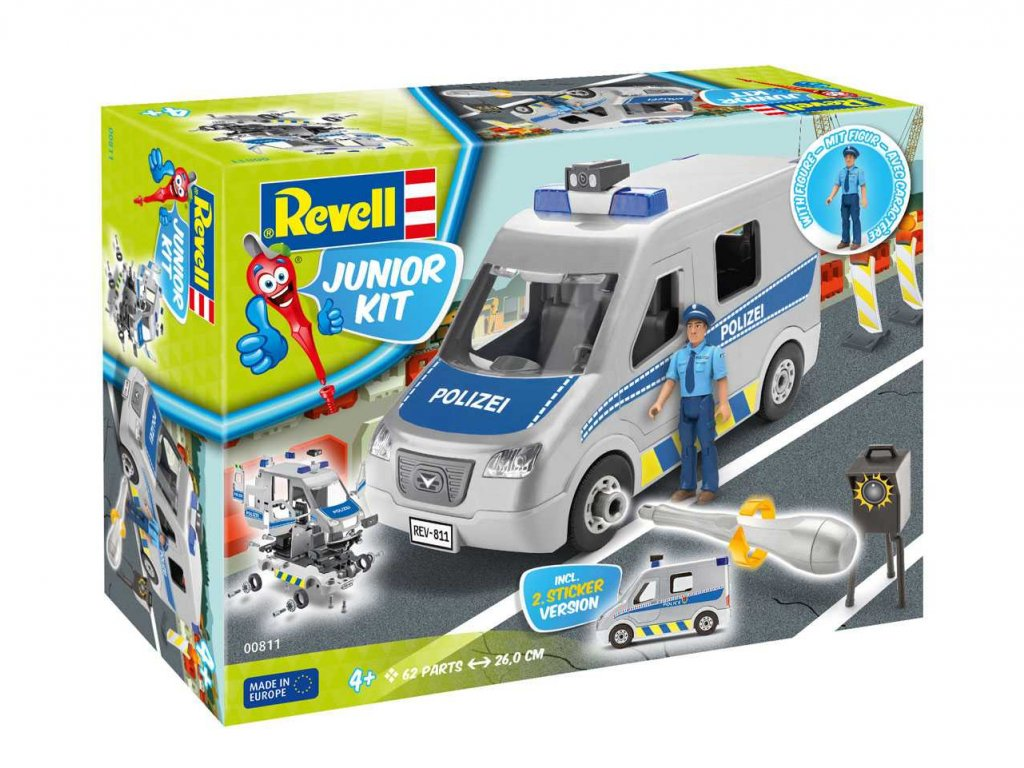1847 junior kit auto 00811 police van 1 20