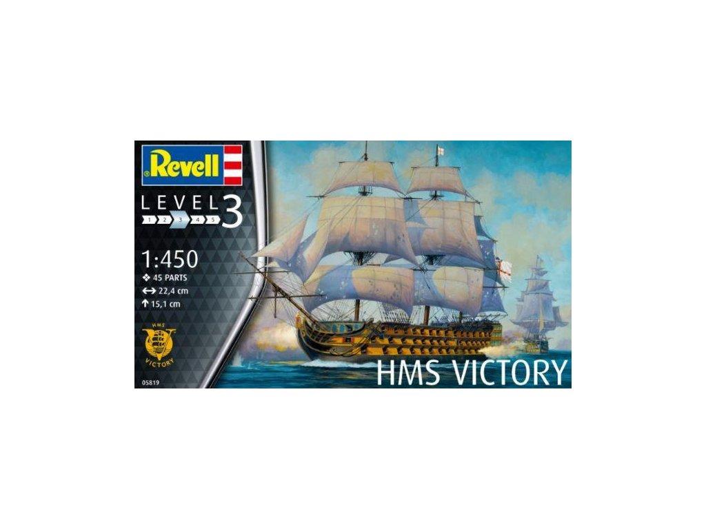 1850 plastovy model lod revell 05819 hms victory 1 450