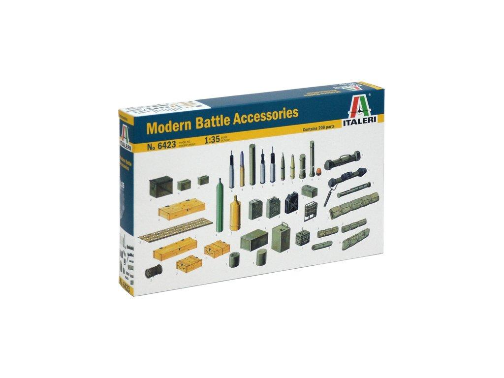 1871 model kit doplnky italeri 6423 modern battle accessories 1 35