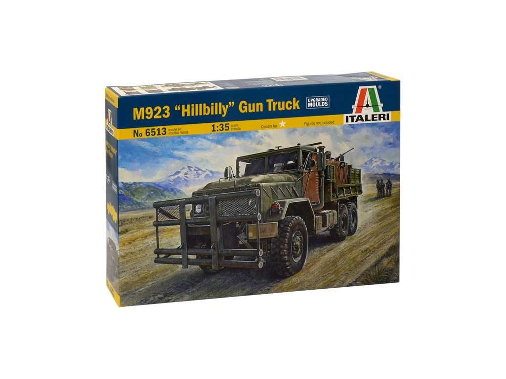 1898 model kit military italeri 6513 m923 hillbilly gun truck 1 35