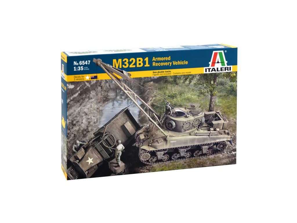 1937 model kit tank italeri 6547 m32b1 armored recovery vehicle 1 35