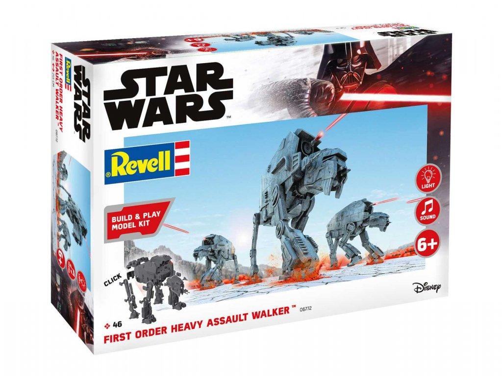 2018 build play sw 06761 first order heavy assault walker