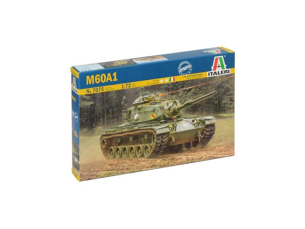 2024 model kit military italeri 7075 m60a1 1 72