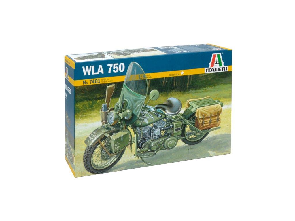 2027 model kit military italeri 7401 wla 750 1 9
