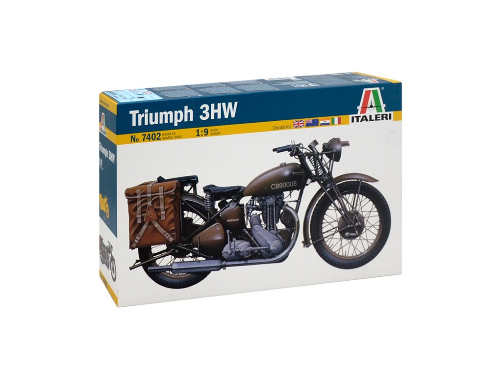 2030 model kit military italeri 7402 triumph 1 9