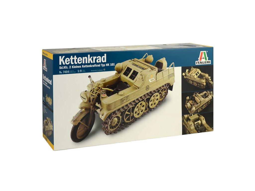 2036 model kit military italeri 7404 hk 101 kettenkrad 1 9