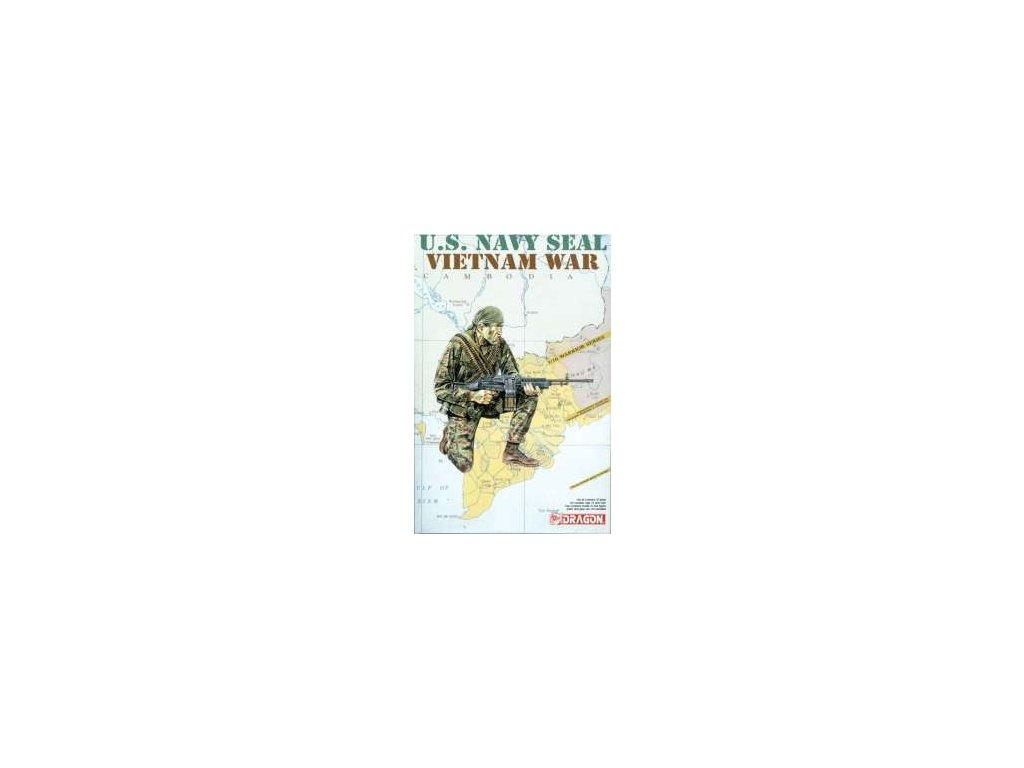 2051 model kit figurky dragon 1607 u s navy seal vietnam war 1 16