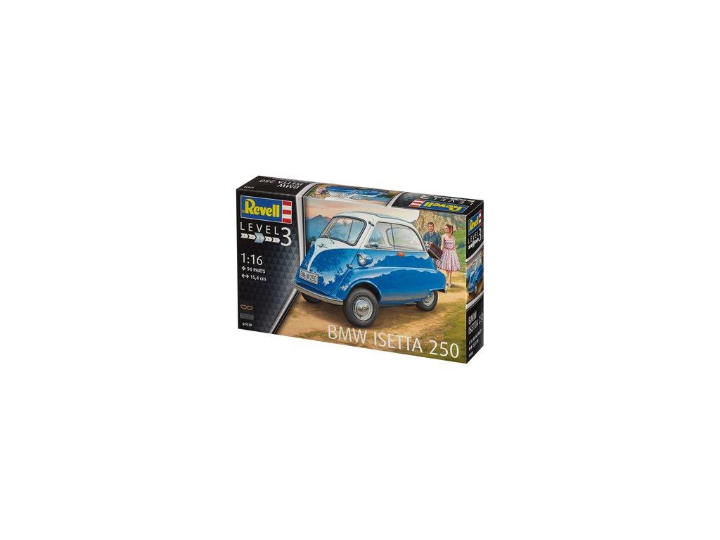 2099 plastovy model auto revell 07030 bmw isetta 250 1 16