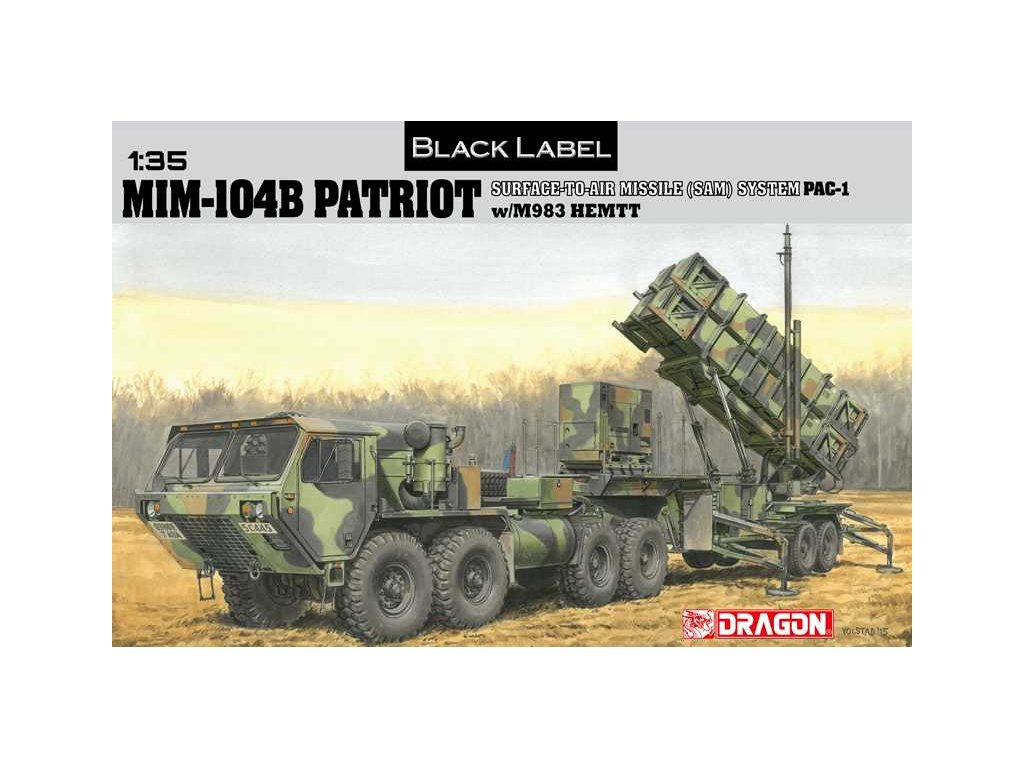 2120 model kit military dragon 3558 mim 104b patriot 1 35