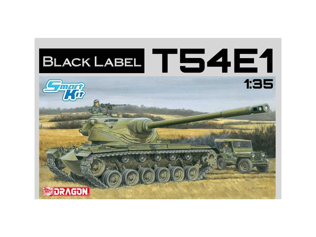 2126 model kit tank dragon 3560 t54e1 smart kit 1 35