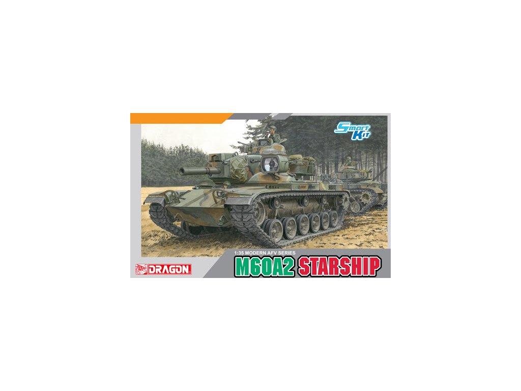 2129 model kit tank dragon 3562 m60a2 starship 1 35