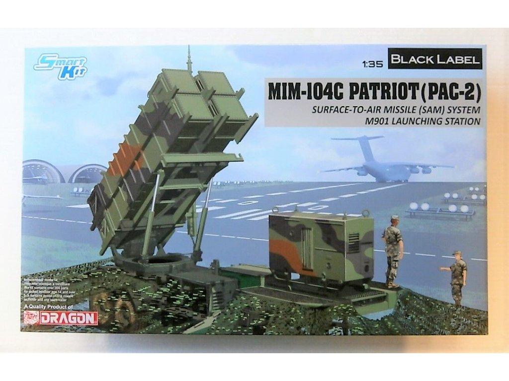 2189 model kit military dragon 3604 mim 104c patriot pac 2 sam 1 35