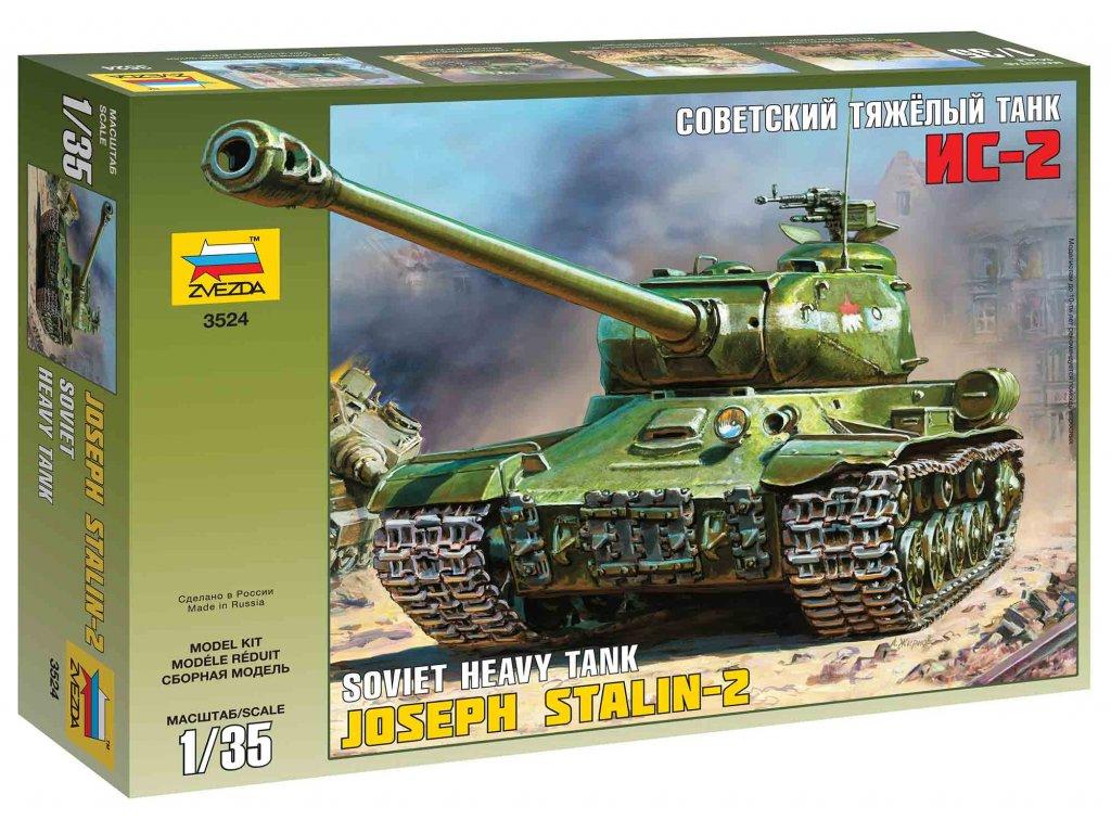 221 model kit tank zvezda 3524 josef stalin 2 soviet heavy tank 1 35