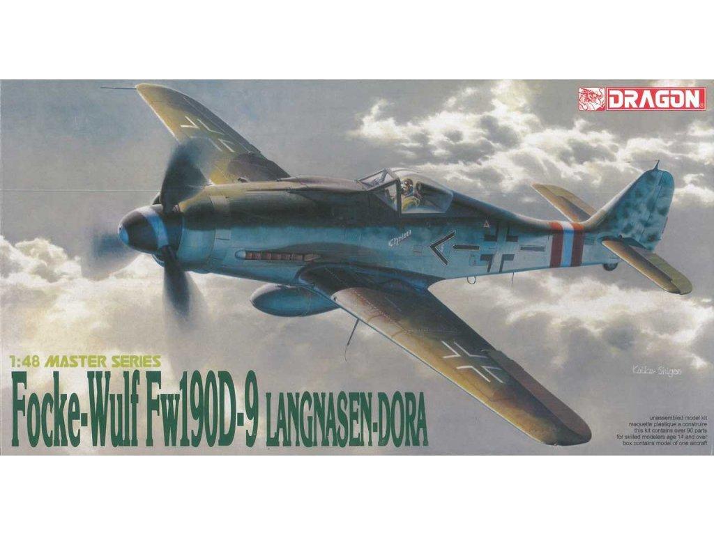 2228 model kit lietadlo dragon 5503 focke wulf fw190d 9 langnasen dora 1 48