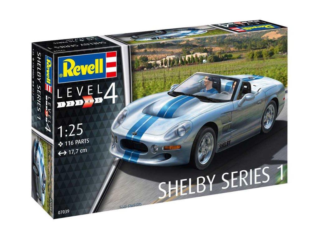 2258 plastovy model auto revell 07039 shelby series i 1 25