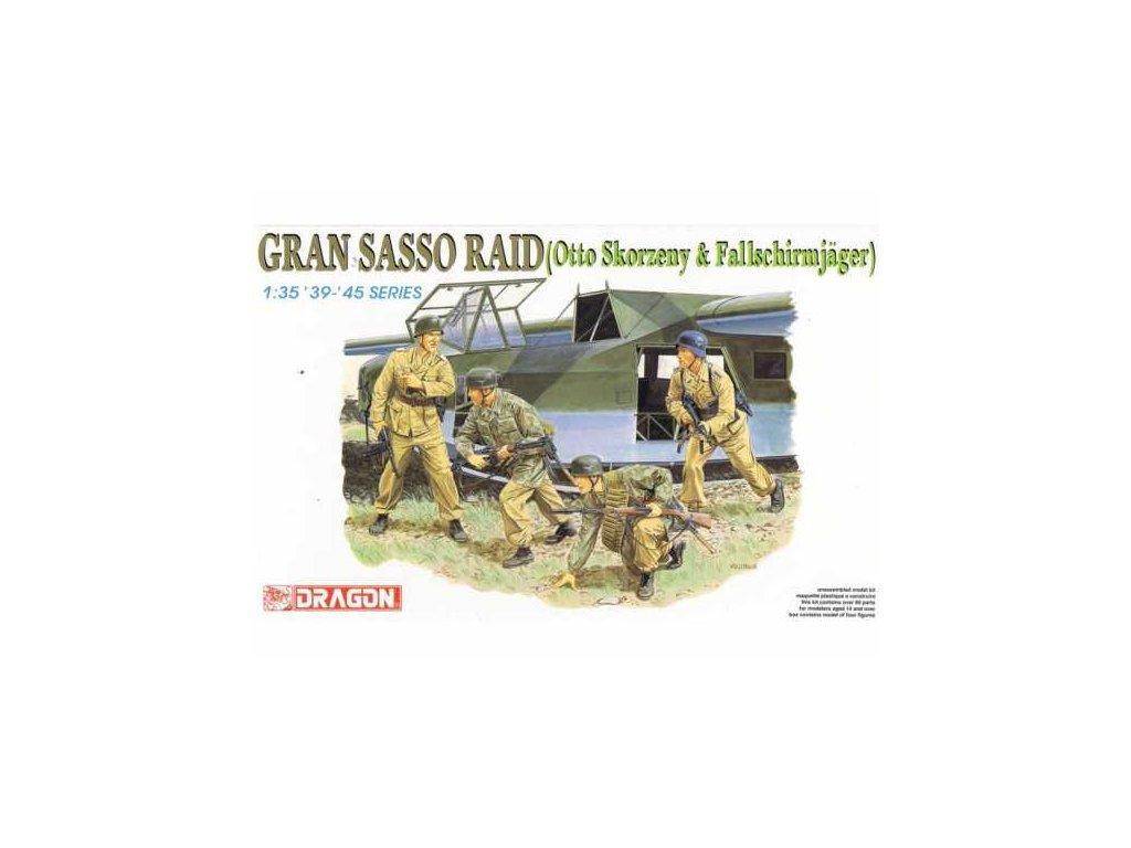 2288 model kit figurky dragon 6094 gran sasso raid 1 35