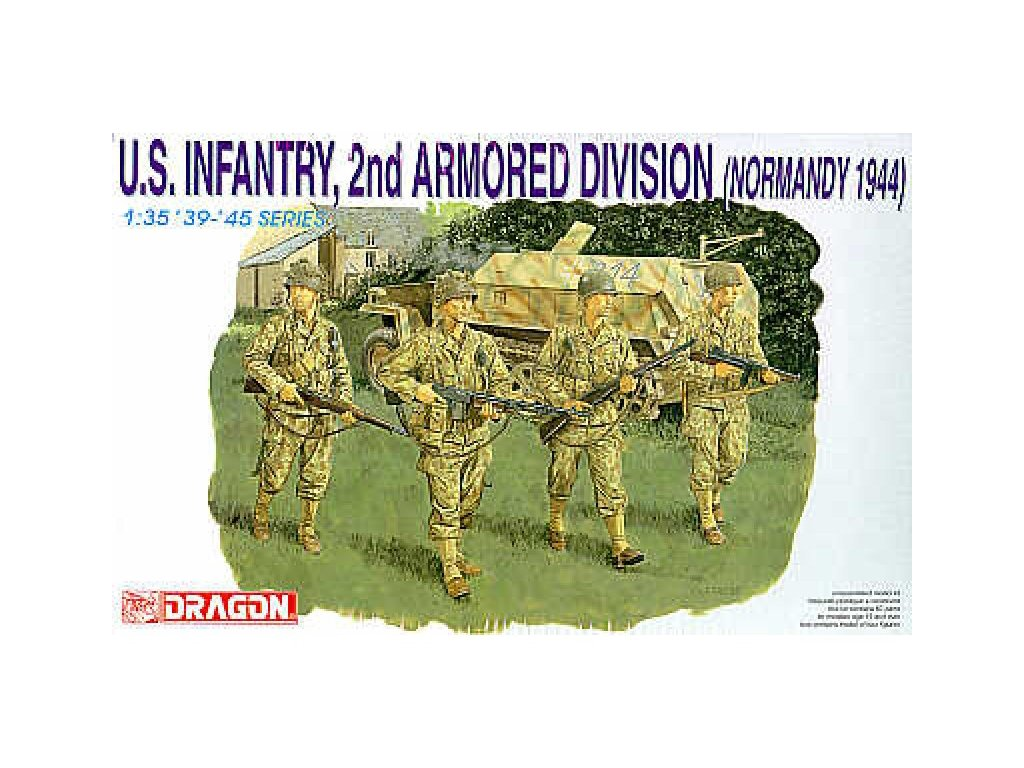 2291 model kit figurky dragon 6120 u s infantry 1 35