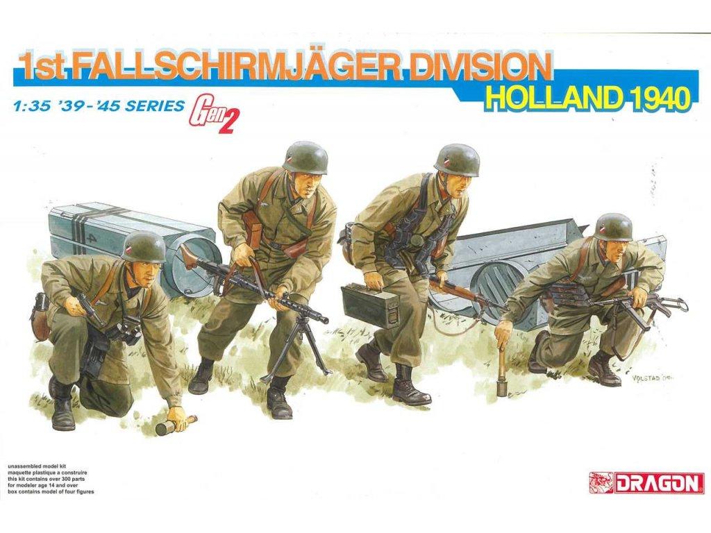2360 model kit figurky dragon 6276 1st fallschirmjager division holland 1940 1 35