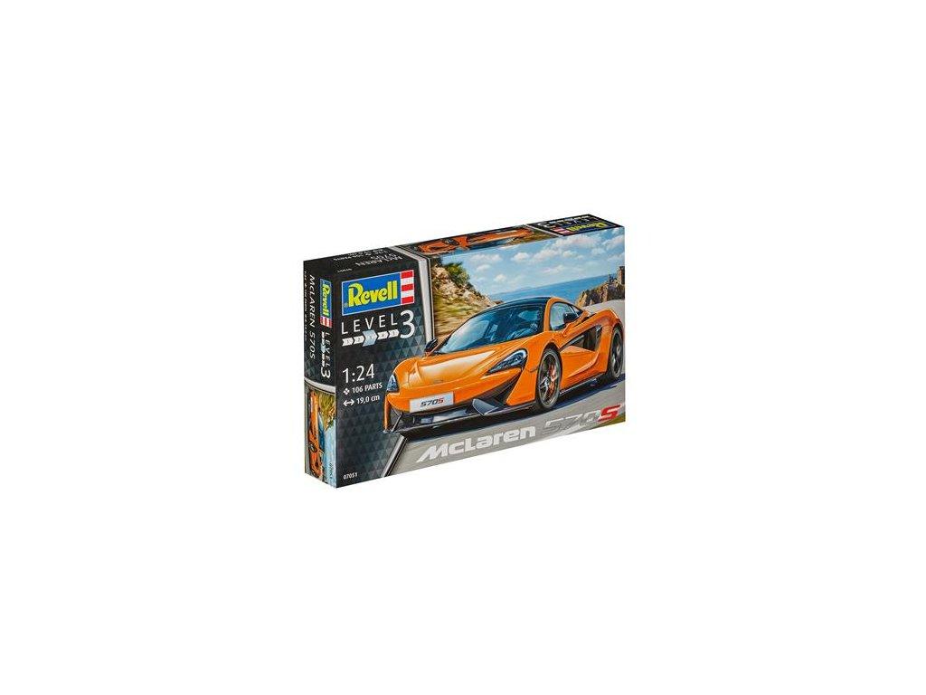 2414 plastovy model auto revell 07051 mclaren 570s 1 24