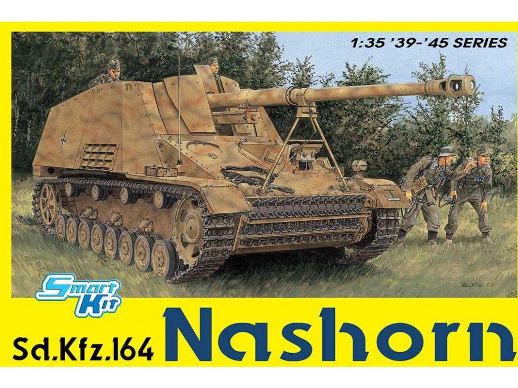 2432 model kit tank dragon 6459 sd kfz 164 nashorn 4 in 1 smart kit 1 35