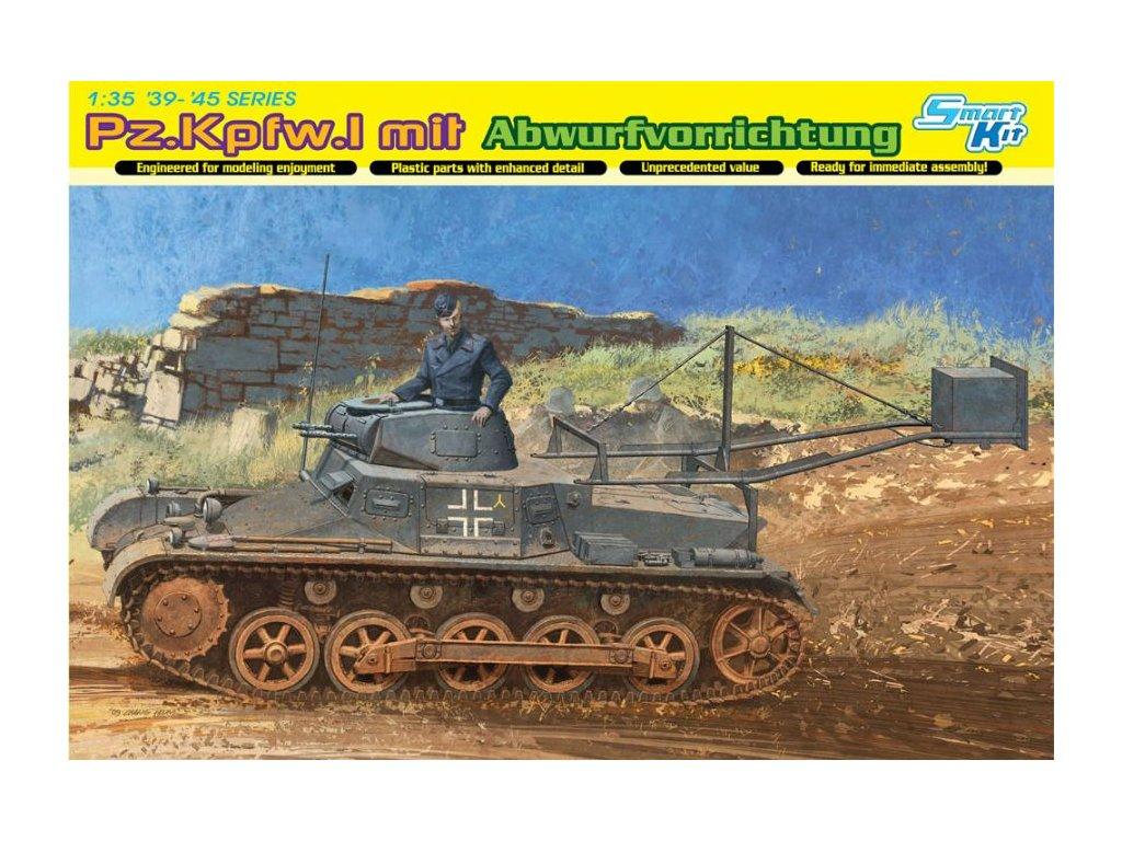 2438 model kit military dragon 6480 pz kpfw i ausf b ladungsleger 1 35
