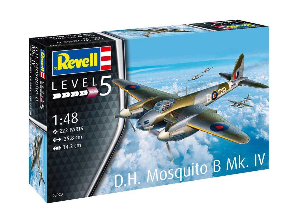 245 plastovy model lietadlo revell 03923 d h mosquito bomber 1 48