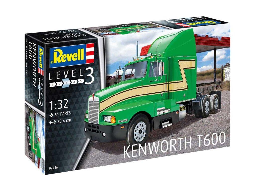 2468 plastovy model kamion revell 07446 kenworth t600 1 32