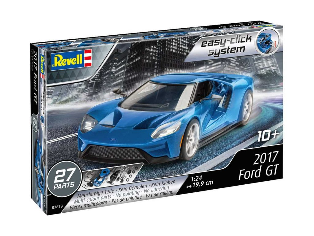 2522 easyclick auto revell 07678 2017 ford gt 1 24