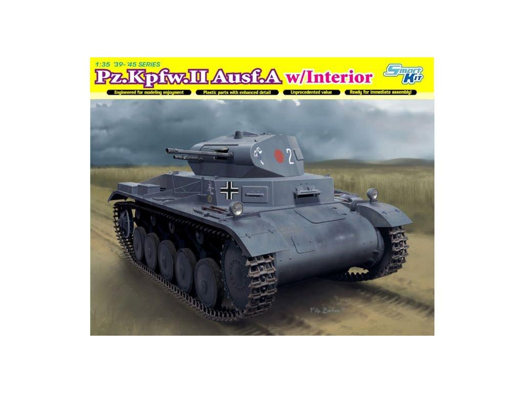 2525 model kit military dragon 6687 pz kpfw ii ausf a poland 1939 1 35