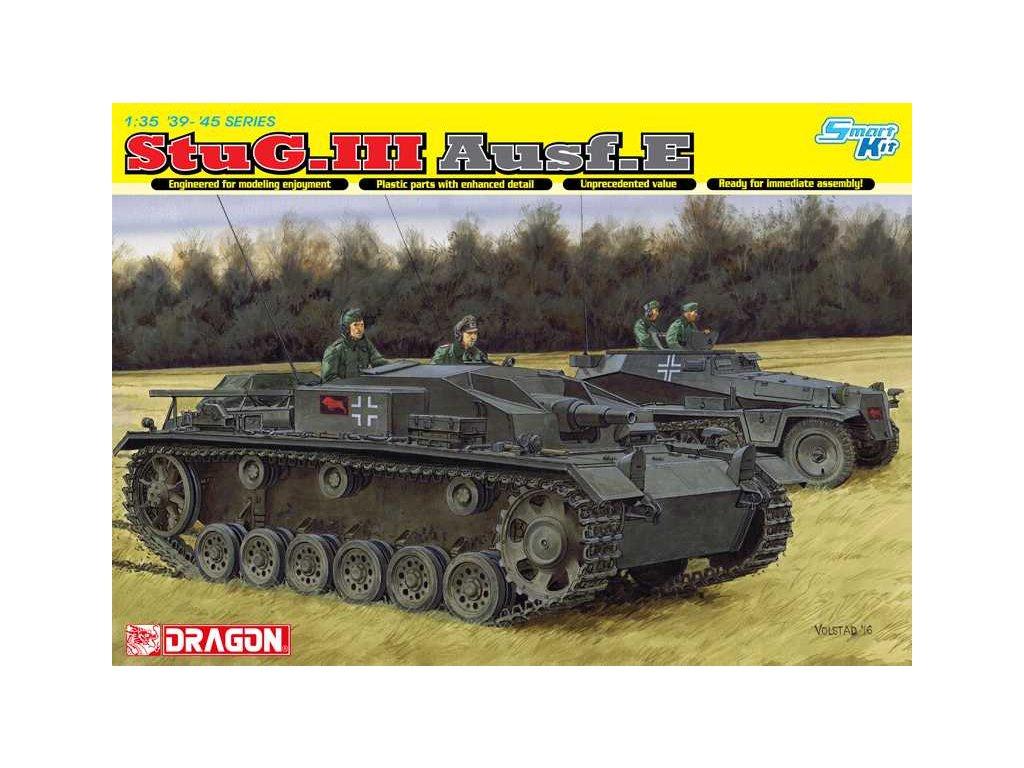 2528 model kit tank dragon 6688 stug iii ausf e 1 35