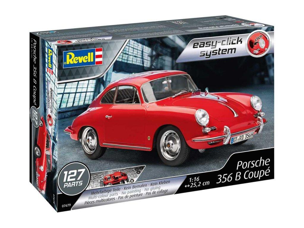 2537 easyclick auto revell 07679 porsche 356 b coupe 1 16