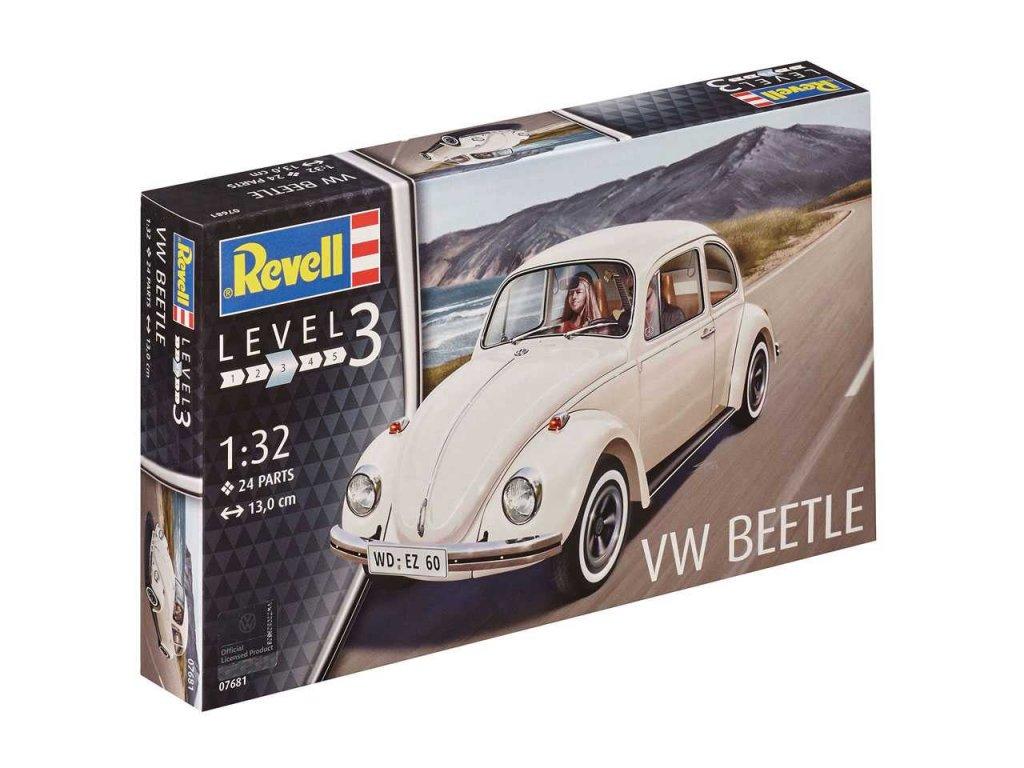 2582 plastovy model auto revell 07681 vw beetle 1 32
