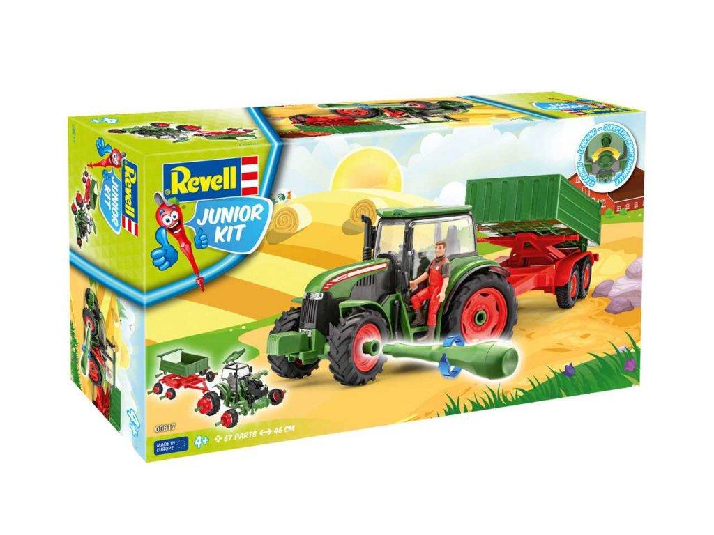2591 junior kit traktor 00817 tractor trailer incl figure 1 20