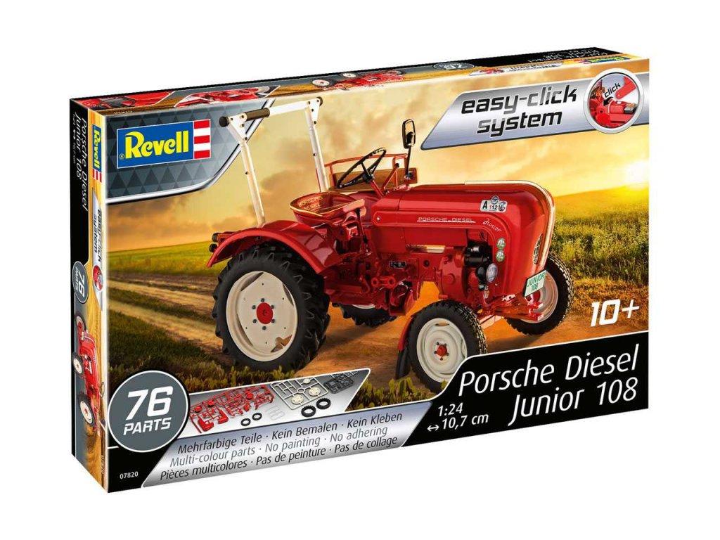2618 easyclick traktor revell 07820 porsche diesel junior 108 1 24