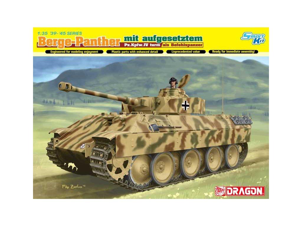 2636 model kit tank dragon 6835 berge panther mit aufgesetztem pz kpfw iv 1 35
