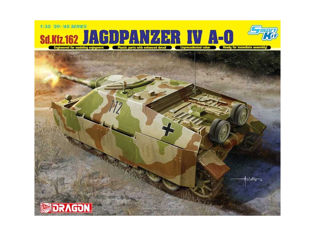 2651 model kit military dragon 6843 sd kfz 162 jagdpanzer iv a 0 1 35