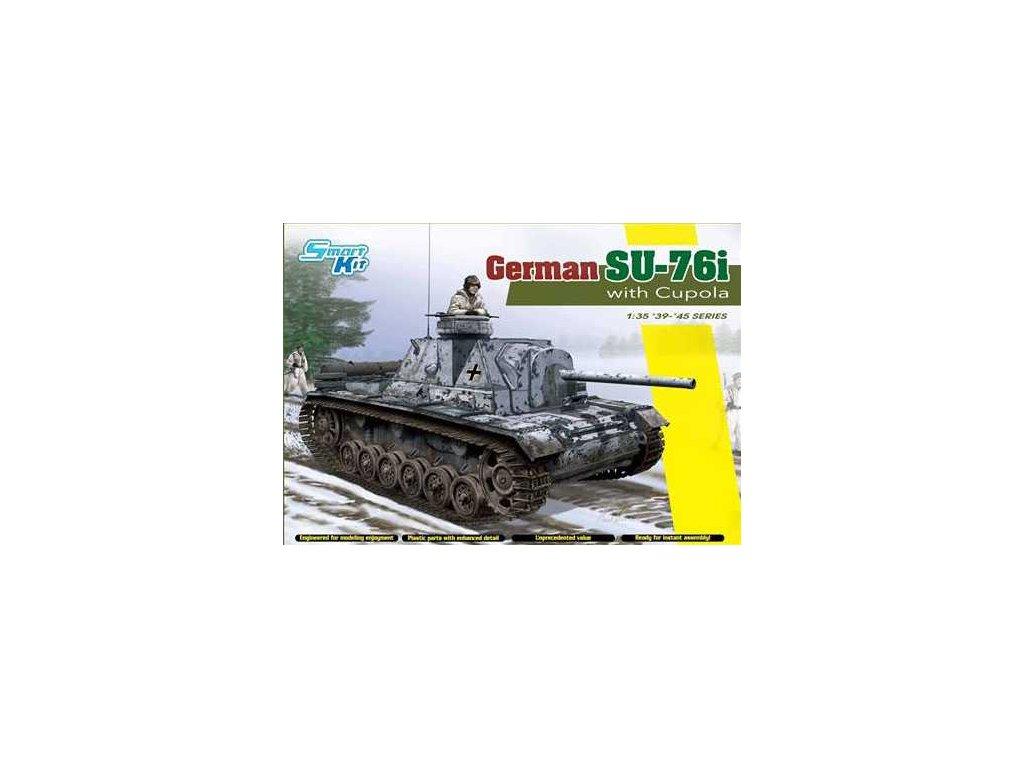 2666 model kit tank dragon 6856 german su 76i 1 35