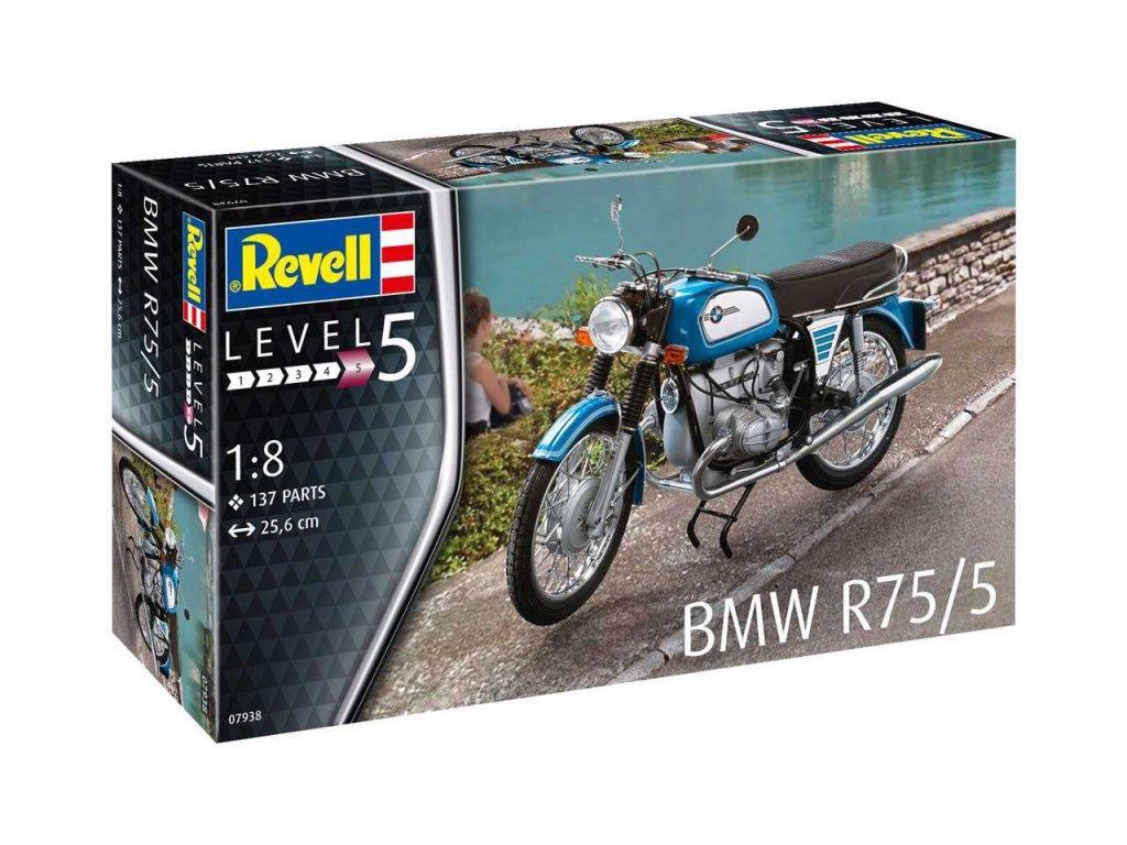 2699 plastovy model motorka revell 07938 bmw r75 5 1 8
