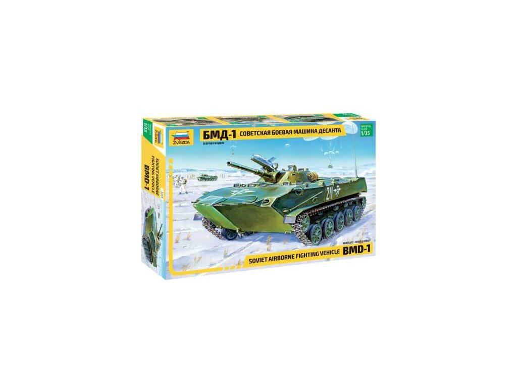272 model kit military zvezda 3559 bmd 1 airborne afv re release 1 35