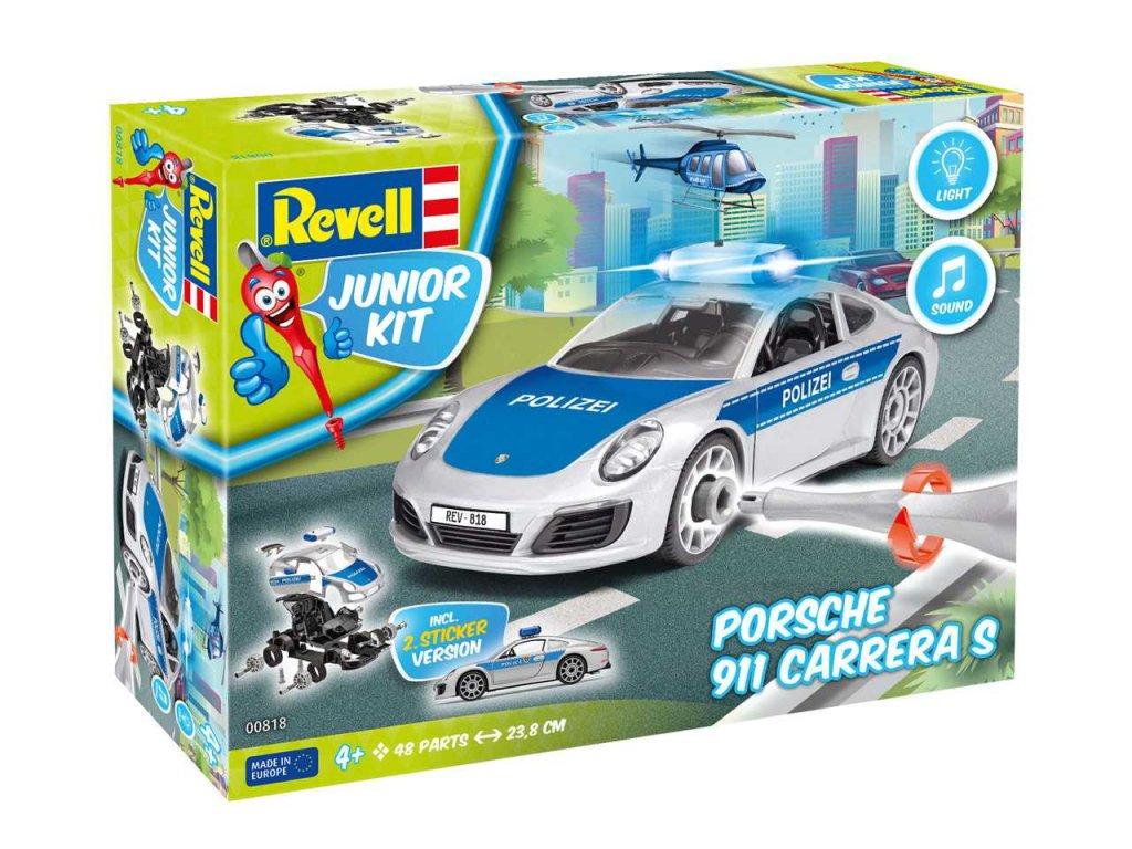 2798 junior kit auto 00818 porsche 911 police svetelne a zvukove efekty 1 20