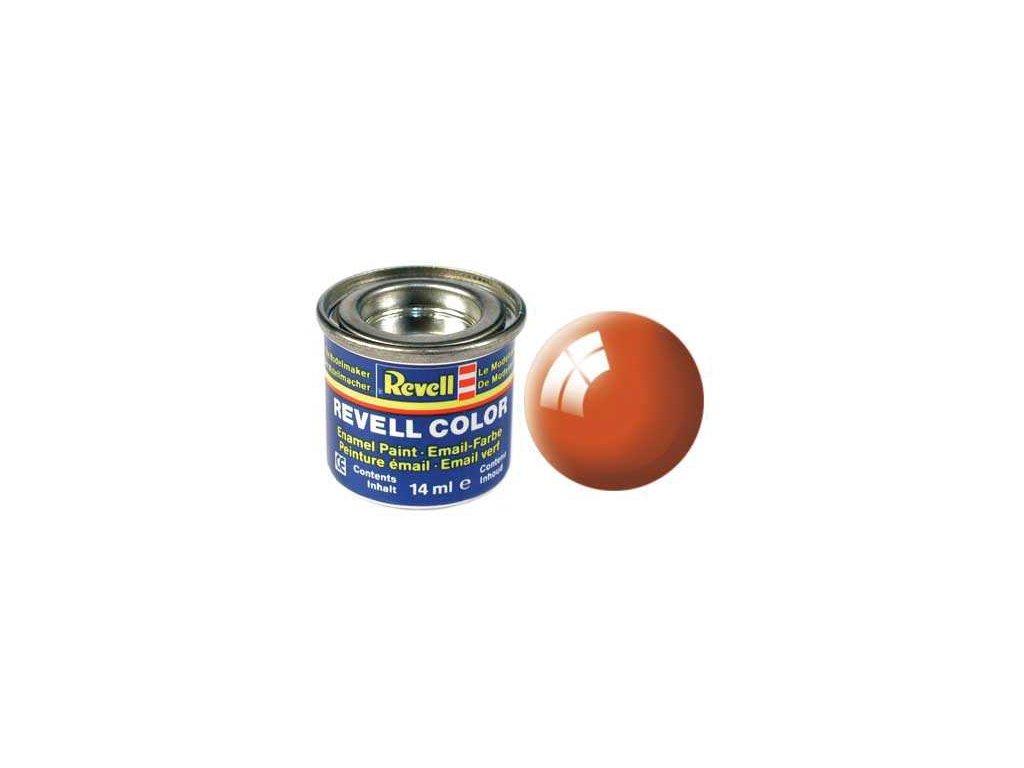 2957 farba revell emailova 32130 leskla oranzova orange gloss