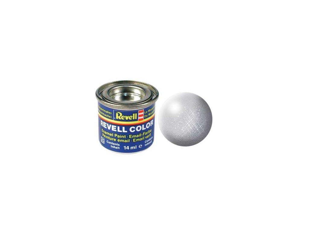 3041 farba revell emailova 32190 metalicka strieborna silver metallic