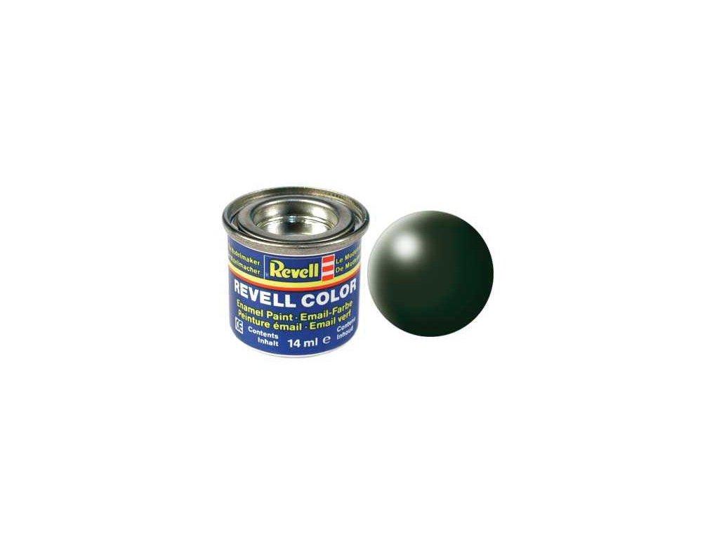 3062 farba revell emailova 32363 hodvabna tmavo zelena dark green silk
