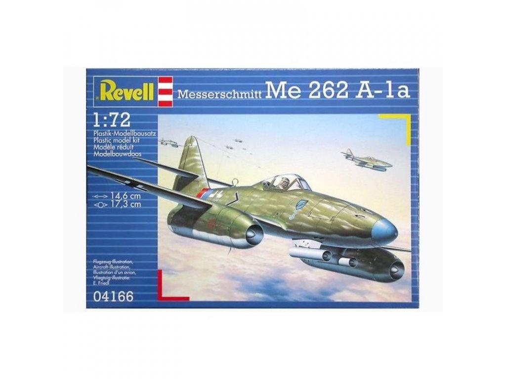 3071 plastovy model lietadlo revell 04166 messerschmitt me 262 a la 1 72