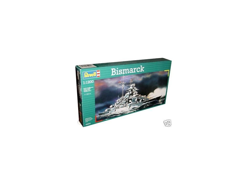 3080 plastovy model lod revell 05802 bismarck 1 1200