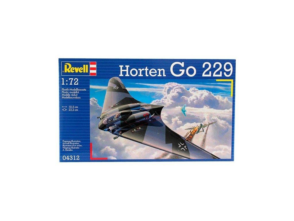 3104 plastovy model lietadlo revell 04312 horten go 229 1 72