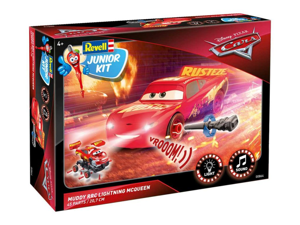 3113 junior kit auto 00864 cars 3 lightning mcqueen crazy 8 race 1 20