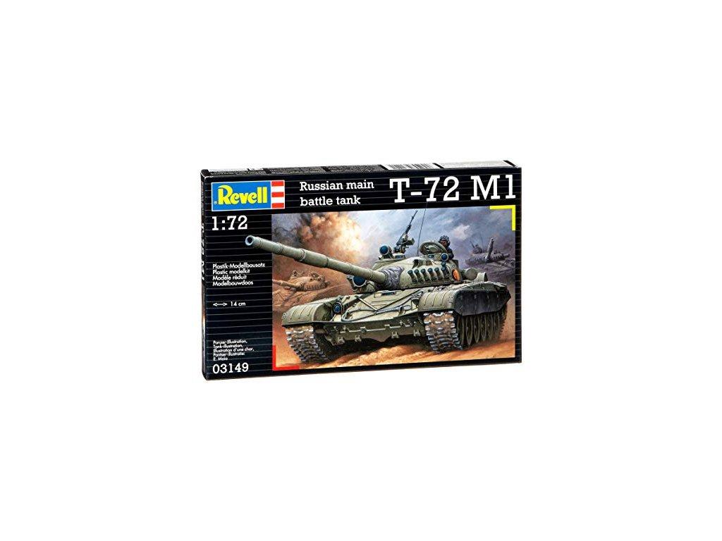 3116 plastovy model military revell 03149 soviet battle t 72 m1 1 72