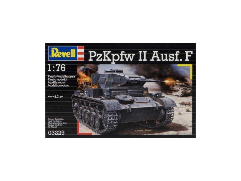 3119 plastovy model military revell 03229 pzkpfw ii ausf f 1 76