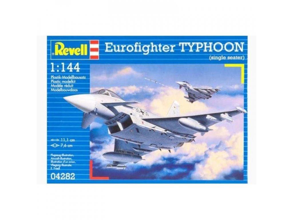 3125 plastovy model lietadlo revell 04282 eurofighter typhoon 1 144